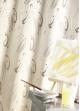 Rideau Ameublement Jacquard 'Design'  Beige