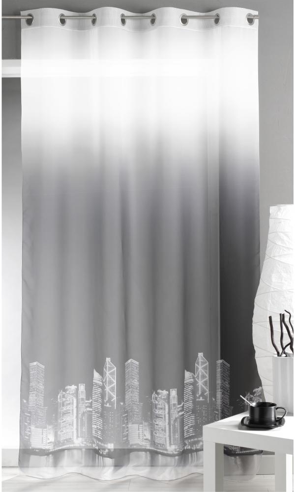 Voilage Imprimé Motif 'City Building'