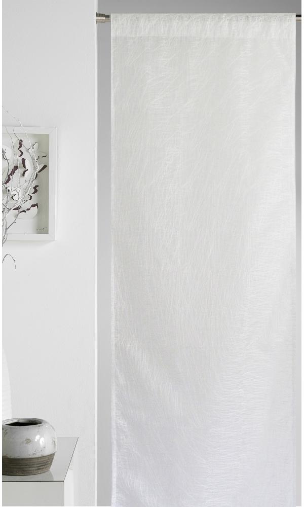 panneau japonais surpiqures ton sur ton uni blanc gris. Black Bedroom Furniture Sets. Home Design Ideas