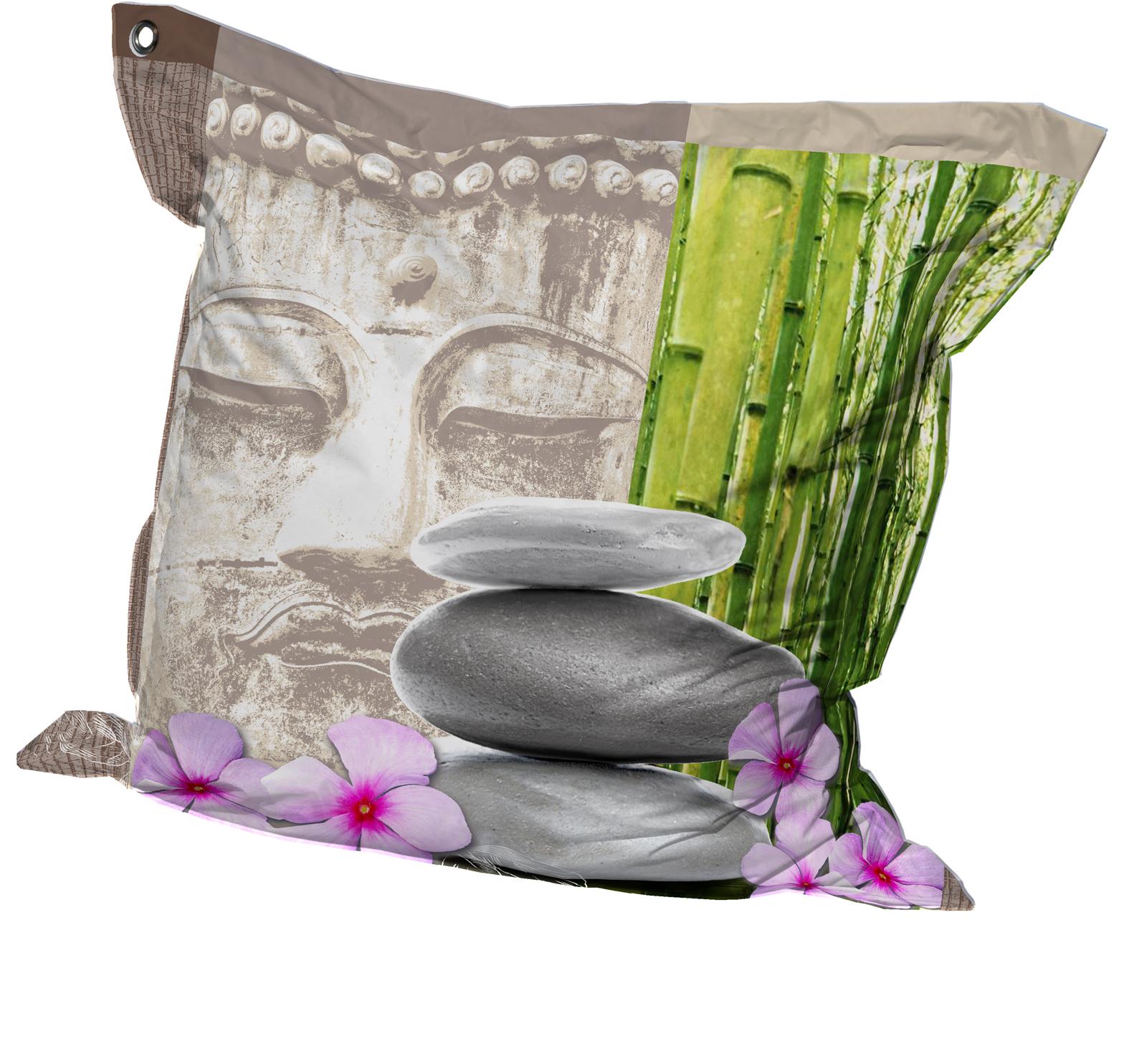 Big coussin zen multicolore homemaison vente en - Housse clic clac originale ...