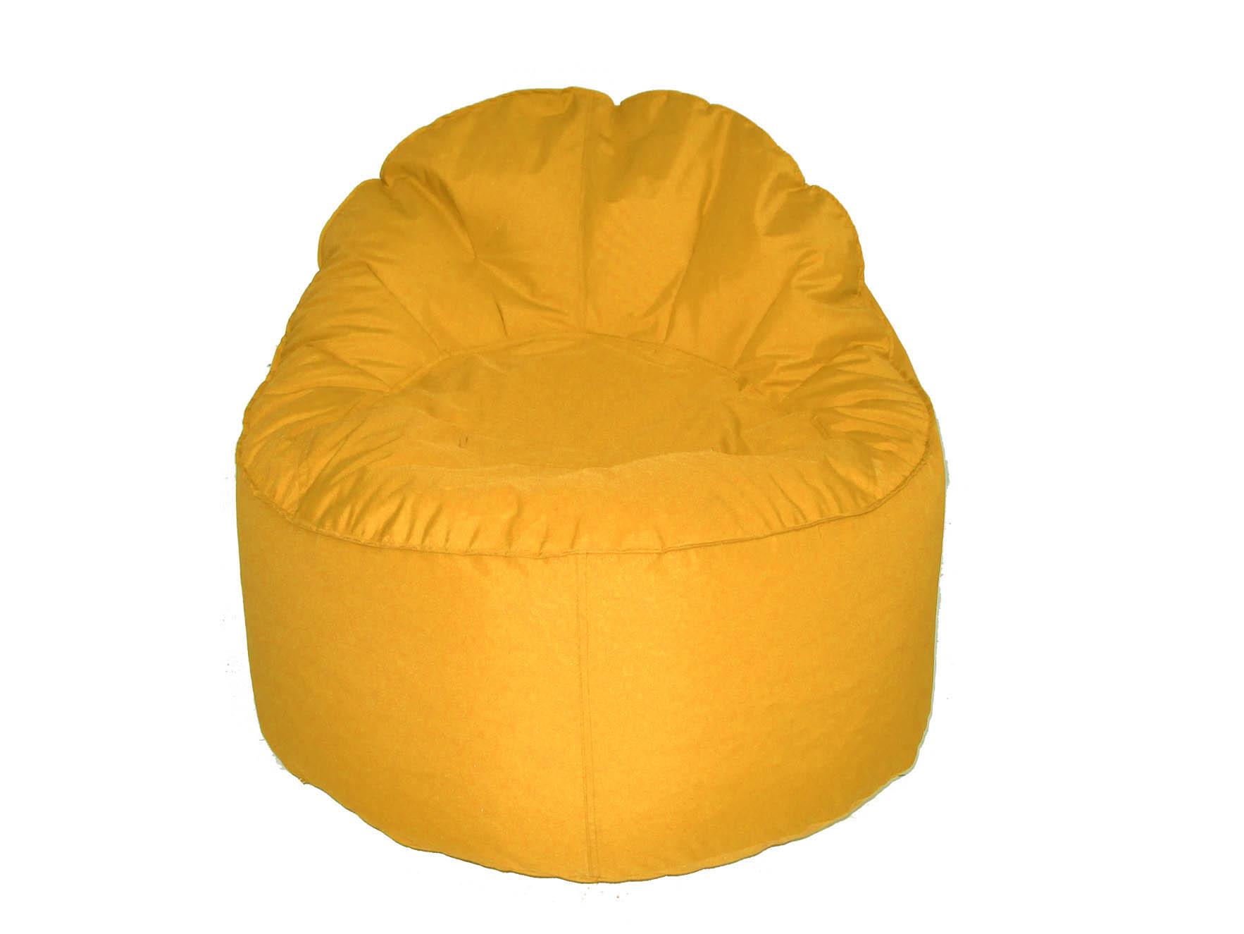 Knot - Pouf jaune - Habitat
