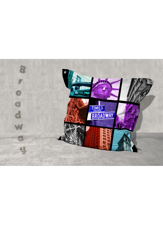 Big Coussin Broadway (Multicolore)