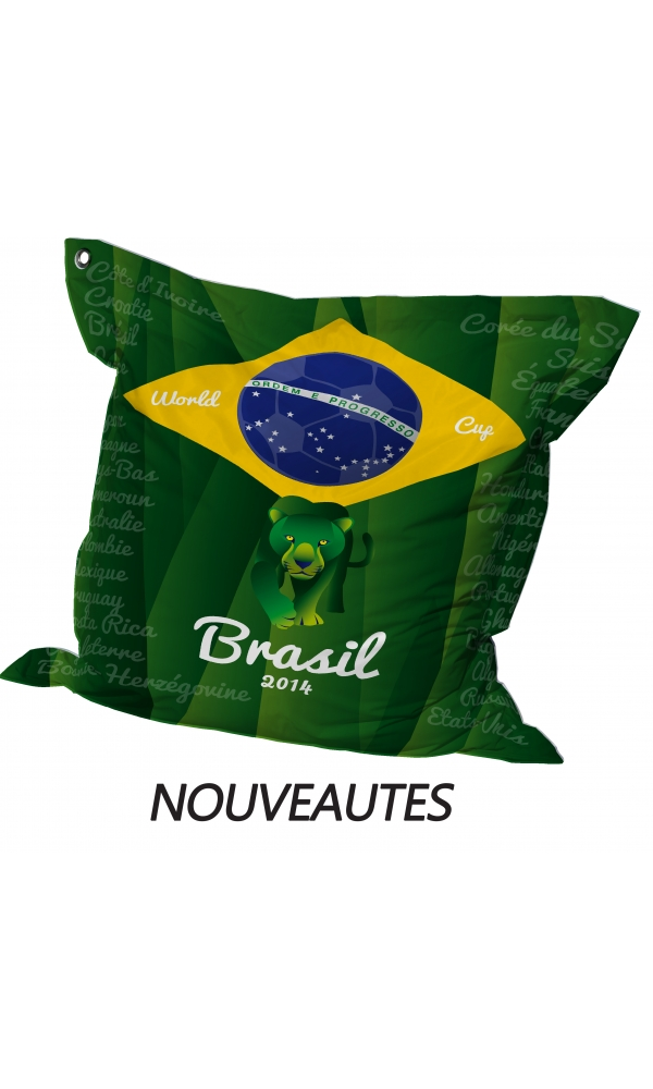 Big Coussin Coupe du monde Brasil