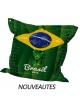 Big Coussin Coupe du monde Brasil Vert
