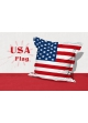 Big Coussin USA Flag blanc /  rouge
