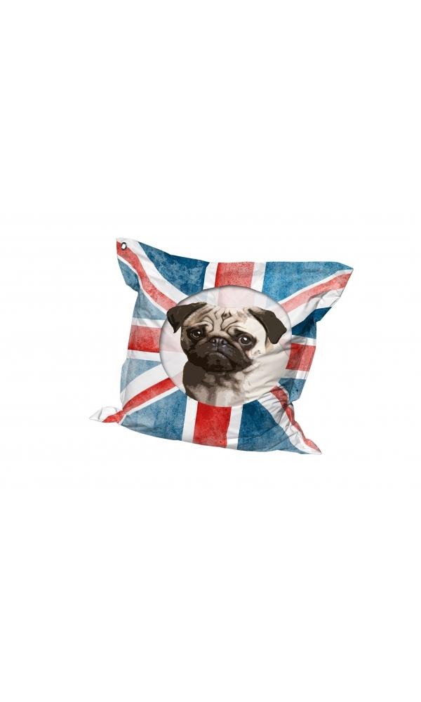 Big Coussin Union Dog (Multicolore)
