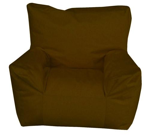 Pouf fauteuil Enfant Chocolat (Chocolat)