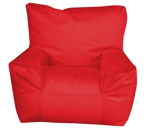 Pouf fauteuil Enfant Rouge