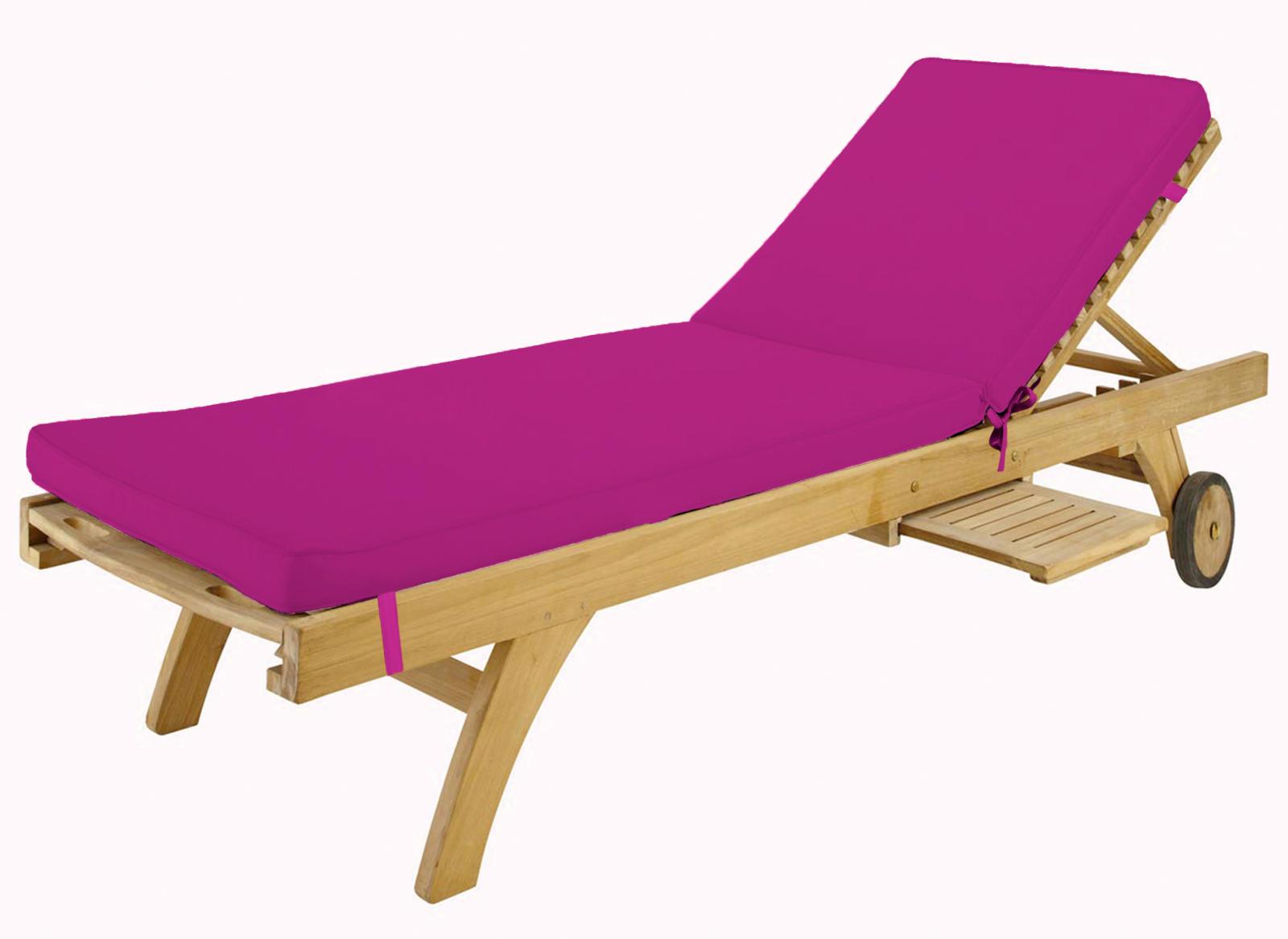 bain de soleil color et d houssable fuschia past que. Black Bedroom Furniture Sets. Home Design Ideas