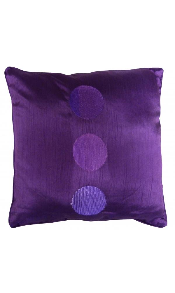 Coussins et housses canap violets vente en ligne de - Taille coussin standard ...