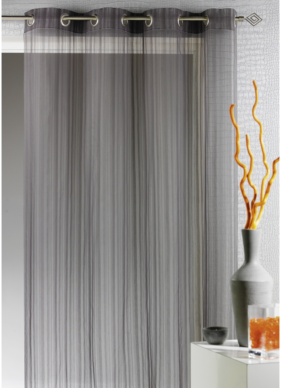 pin rideau fil gris on pinterest. Black Bedroom Furniture Sets. Home Design Ideas