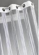 Voilage en Organza Rayures verticales  Blanc