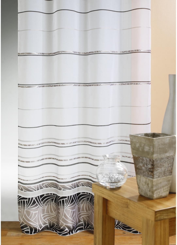 voilage jacquard m tissage lin homemaison vente en ligne voilages. Black Bedroom Furniture Sets. Home Design Ideas