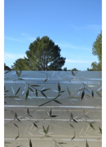 Film vitrostatique feuilles