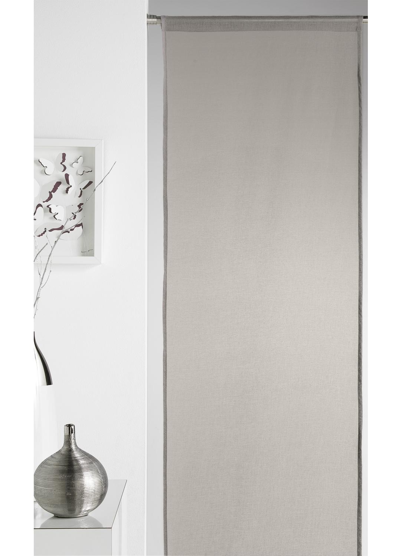 panneau japonais uni gris homemaison vente en ligne panneaux japonais. Black Bedroom Furniture Sets. Home Design Ideas