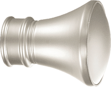 Par de topes 'cintero' para barra de Ø 28 mm (Níquel)