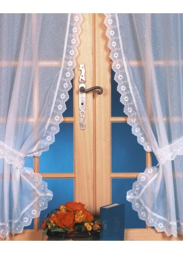 rideau bonne femme. Black Bedroom Furniture Sets. Home Design Ideas