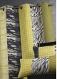 Rideau jacquard rayures verticales  Bambou