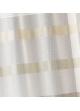 Store voilage ethnique à rayures horizontales  Beige