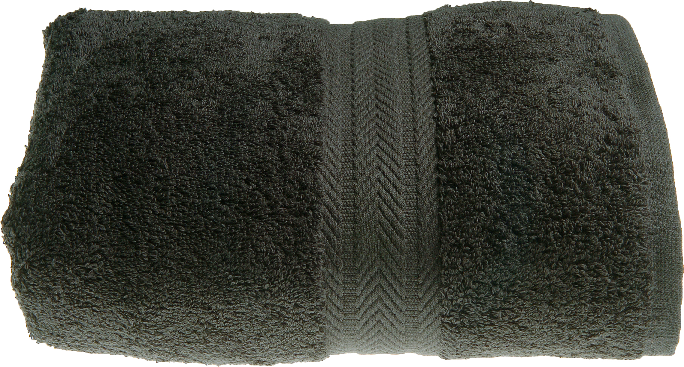 Serviette de toilette 50 x 100 cm en Coton couleur Anthracite (Anthracite)
