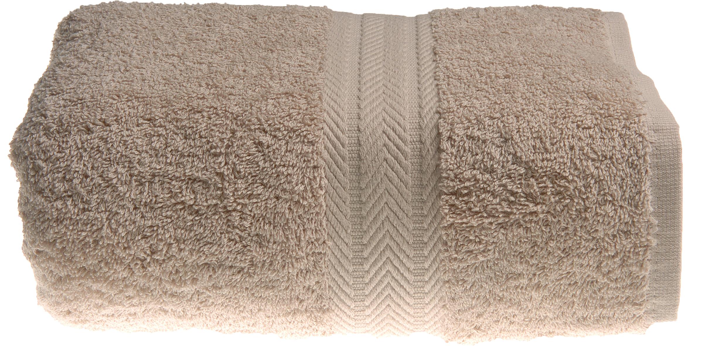Serviette invitée 30 x 50 cm en Coton couleur Ficelle (Ficelle)