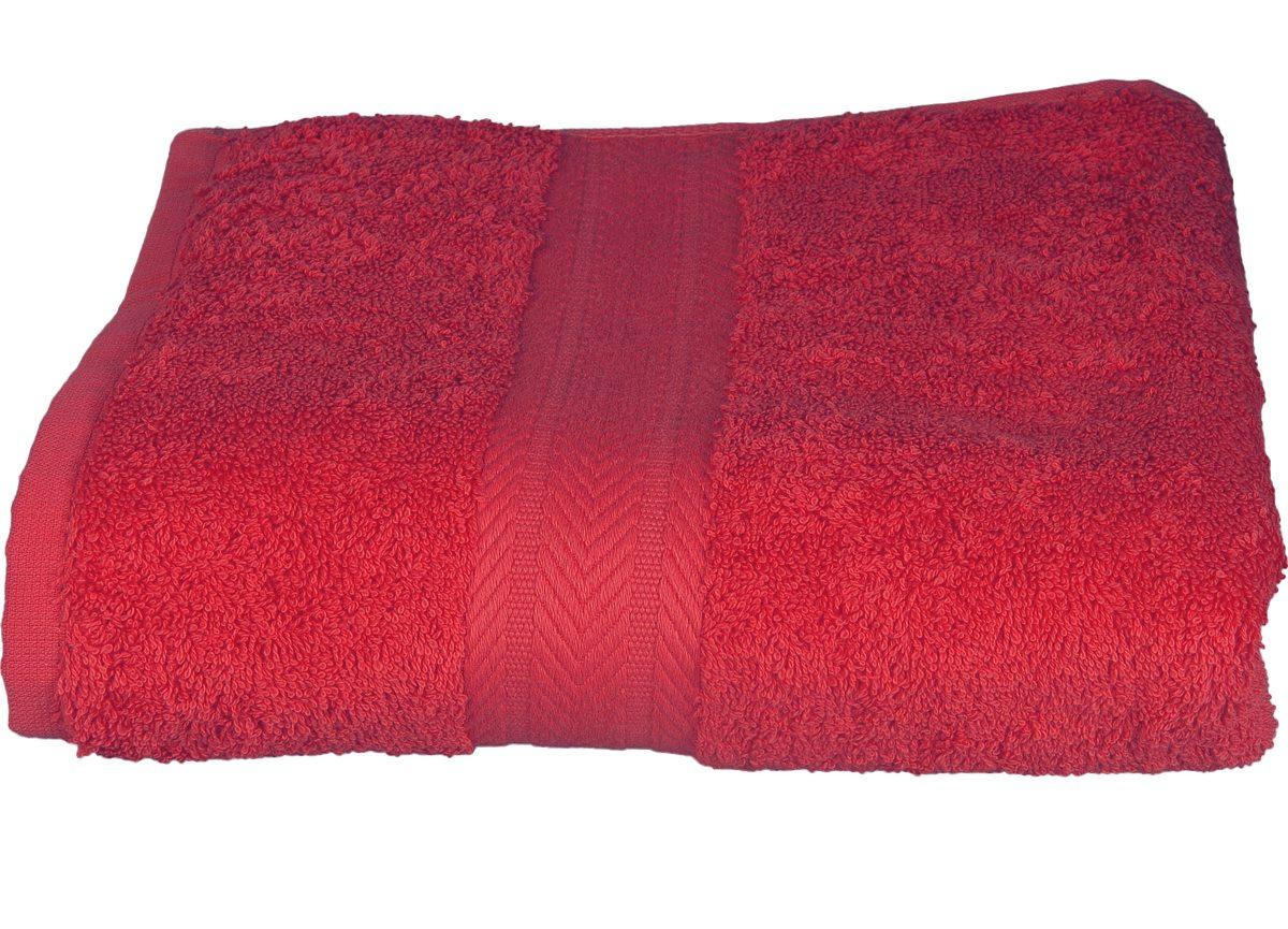 Serviette invitée 30 x 50 cm en Coton couleur Framboise (Framboise)