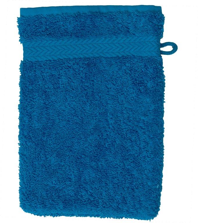 Gant de toilette 16 x 22 cm en Coton couleur Océan (Océean)
