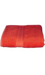 Drap de bain 100 x 150 cm en Coton couleur Corail