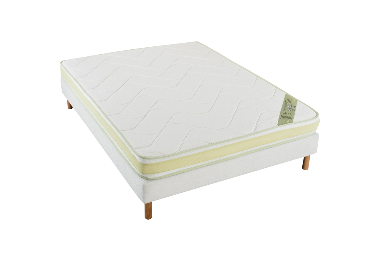 matelas greeneo m moire de forme 16 cm d epaisseur blanc homemaison vente en ligne matelas. Black Bedroom Furniture Sets. Home Design Ideas