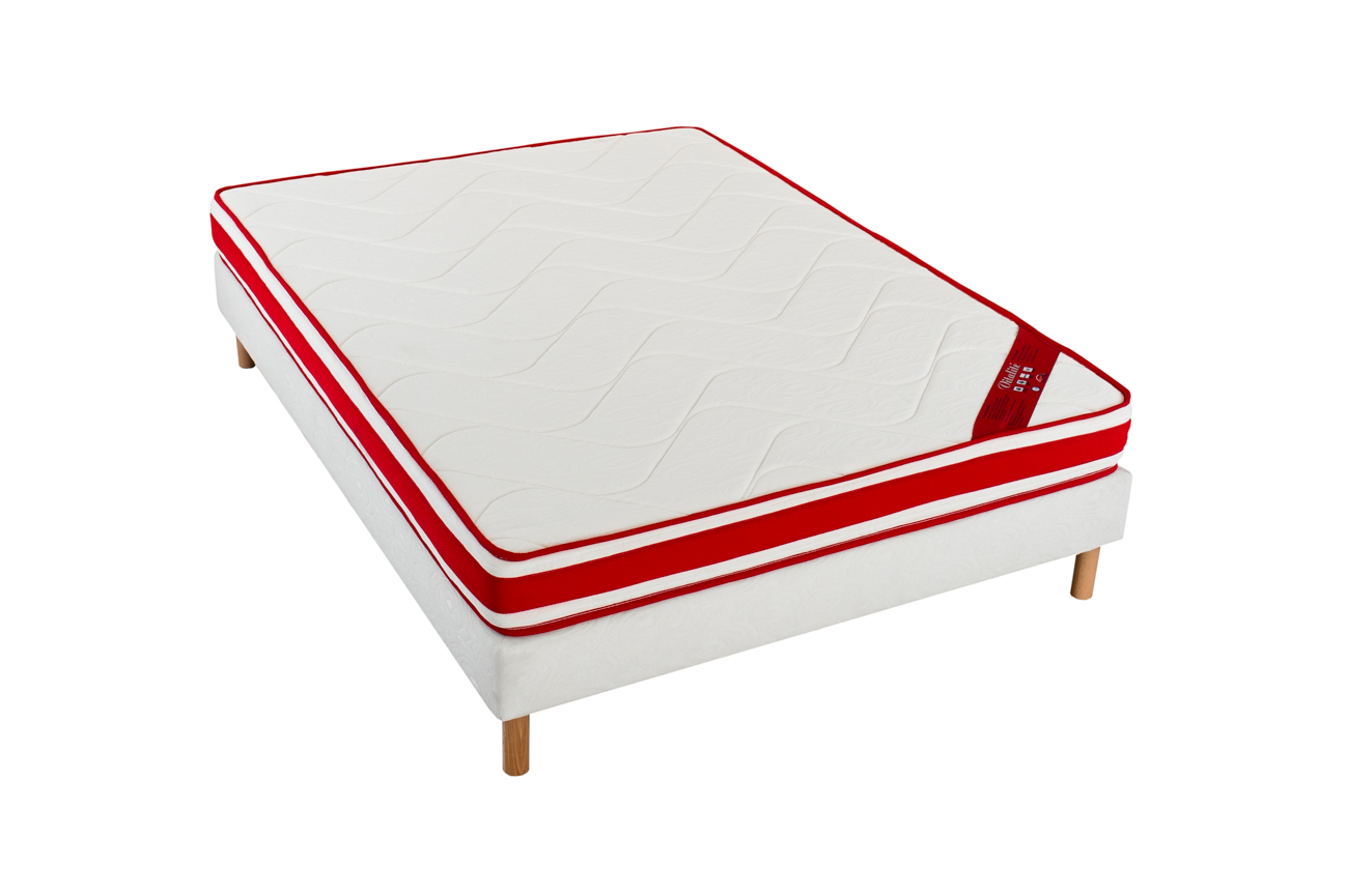 matelas vivolta m moire de forme blanc homemaison vente en ligne matelas. Black Bedroom Furniture Sets. Home Design Ideas