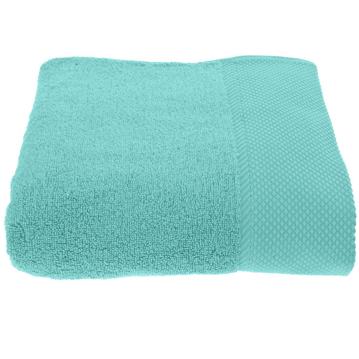 serviette de toilette unie 560gr m bleu turquoise petrol bleu arctic poudre. Black Bedroom Furniture Sets. Home Design Ideas