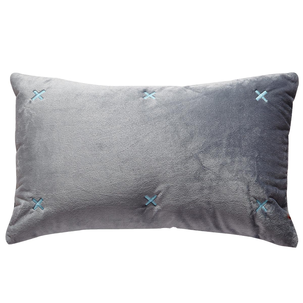 coussin brod petites croix galet sable homemaison vente en ligne coussins standards. Black Bedroom Furniture Sets. Home Design Ideas