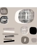 Toile Cirée en PVC Imprimé Design