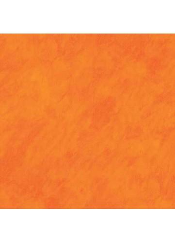 Toile Cirée Faux Uni Coloré (Orange)