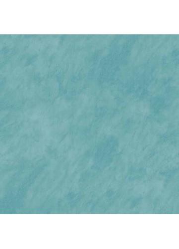 Sous Nappe en PVC Faux Uni Effet Béton Ciré (Turquoise)