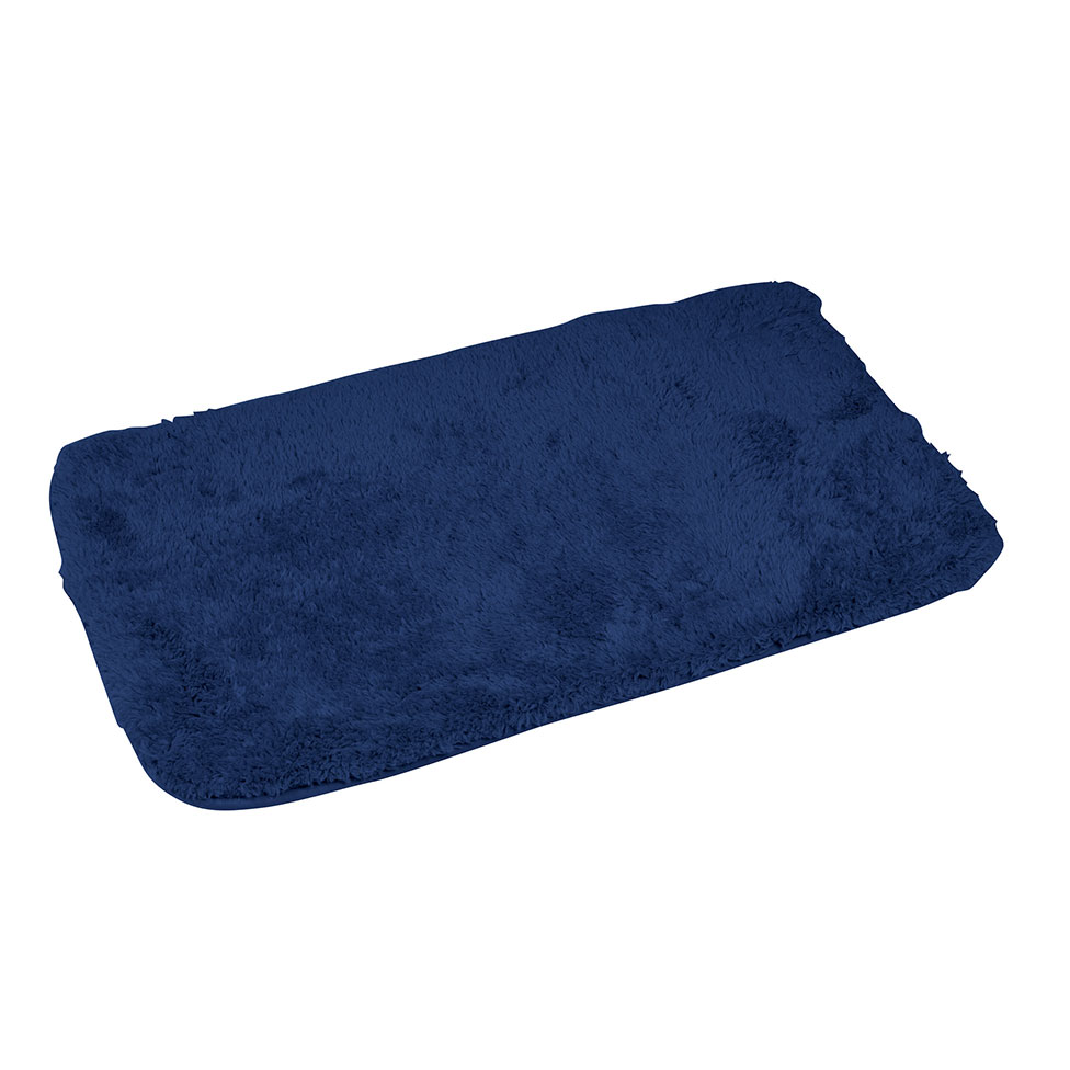 tapis de bain effet chinchilla en microfibre indigo vert menthe homebain vente en. Black Bedroom Furniture Sets. Home Design Ideas