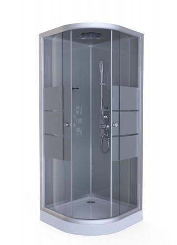 cabines de douche gris noirs homebain vente cabines de douche gris noirs pas cher. Black Bedroom Furniture Sets. Home Design Ideas