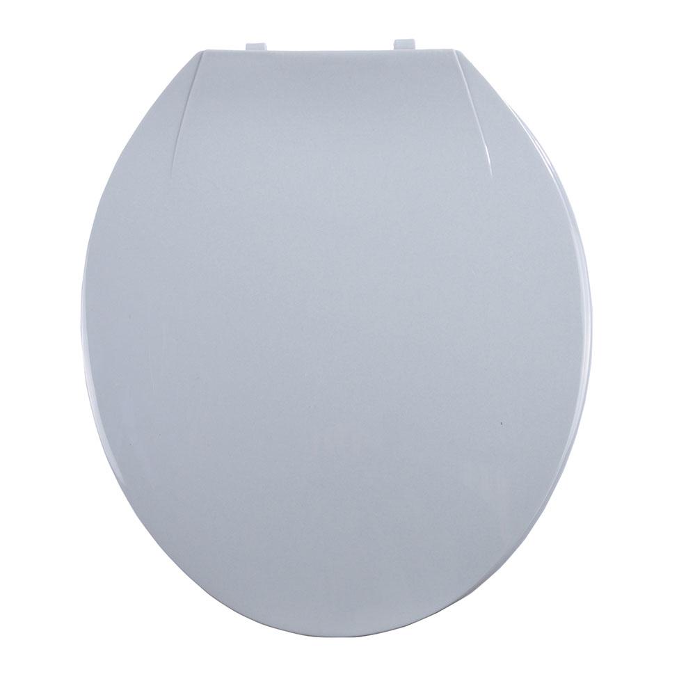 abattant wc color avec charni res en plastique gris clair fuchsia bleu oc an gris. Black Bedroom Furniture Sets. Home Design Ideas