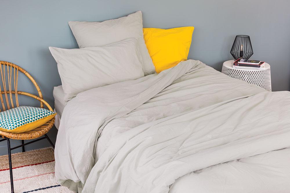 housse de couette unie en coton lav galet curry perle bleu liberty plomb. Black Bedroom Furniture Sets. Home Design Ideas