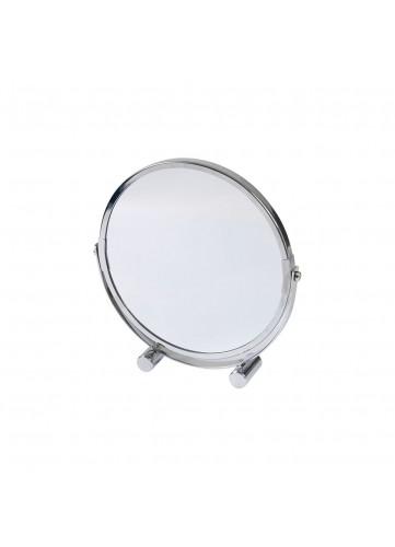 Miroir à Poser Grossissant X1/X3 en Métal Chromé