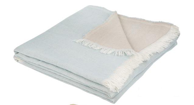 plaid color en 100 m rinos galet bleu glacier galet mousse galet curry. Black Bedroom Furniture Sets. Home Design Ideas