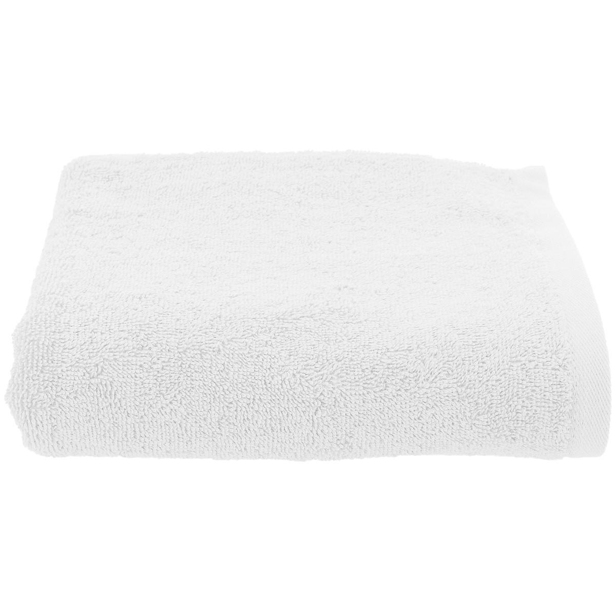 Serviette de Toilette Unie 450gr/m² - Blanc - 50x90cm
