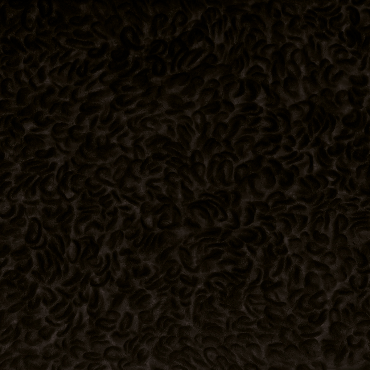 Tissu en éponge unie de 400g - Noir - 1.5 m
