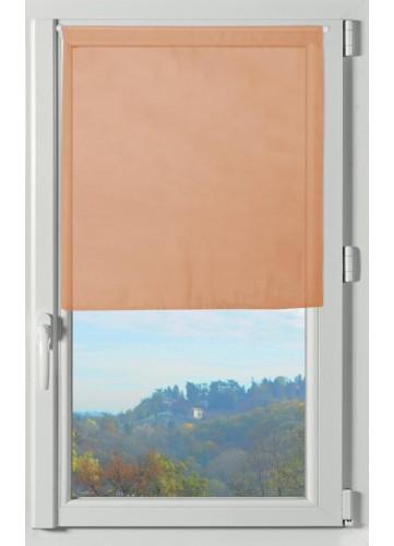 Paire de Brise Bise Unie Légère - Corail - 60 x 60 cm