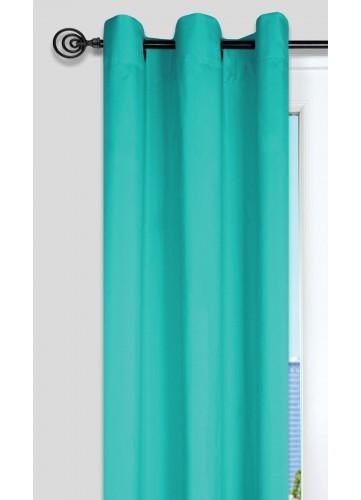 Rideau Uni aux Multiples Couleurs - Céladon - 135 x 240 cm