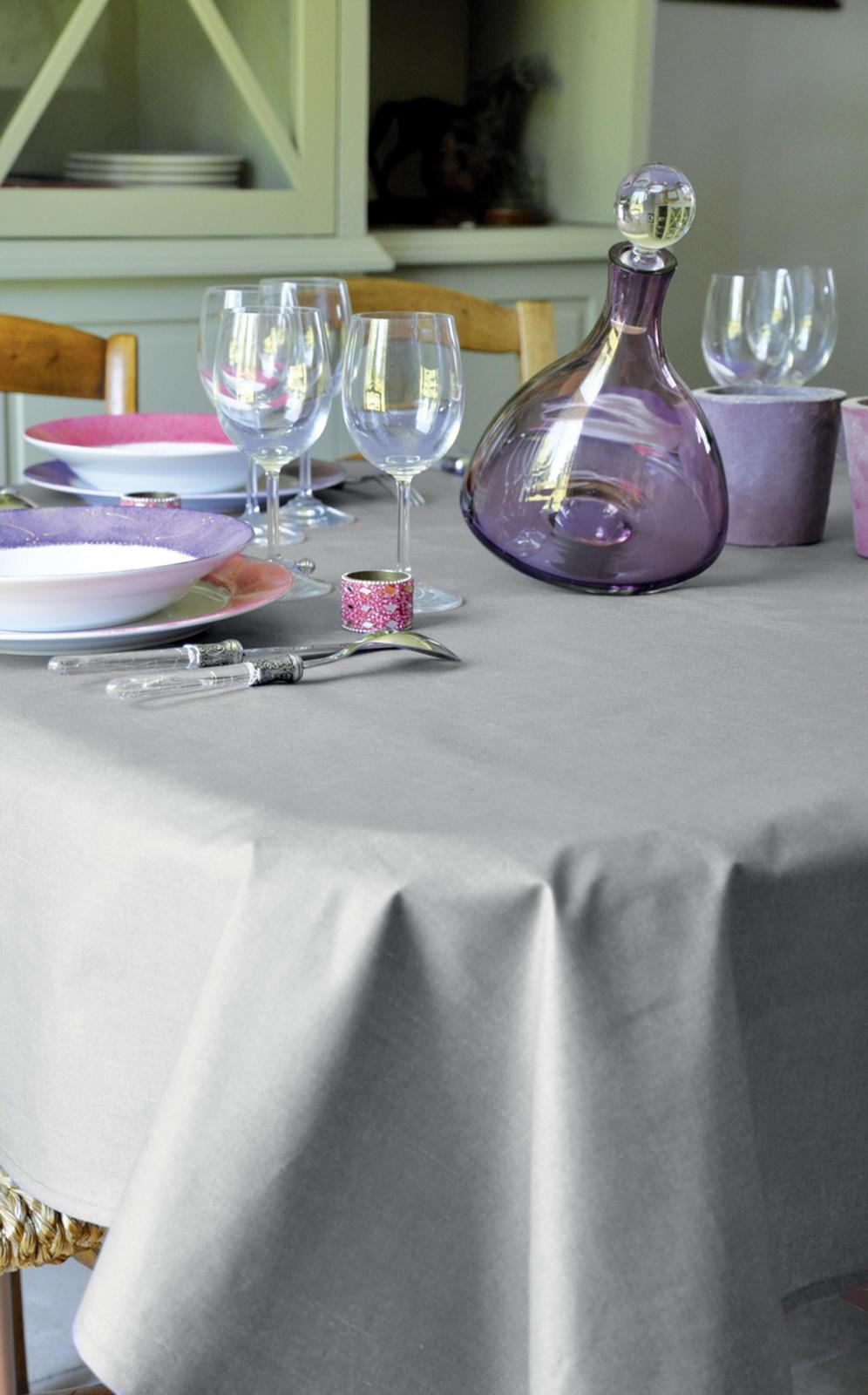 nappe enduite teintes de gris perle lin gris anthracite homemaison vente en. Black Bedroom Furniture Sets. Home Design Ideas