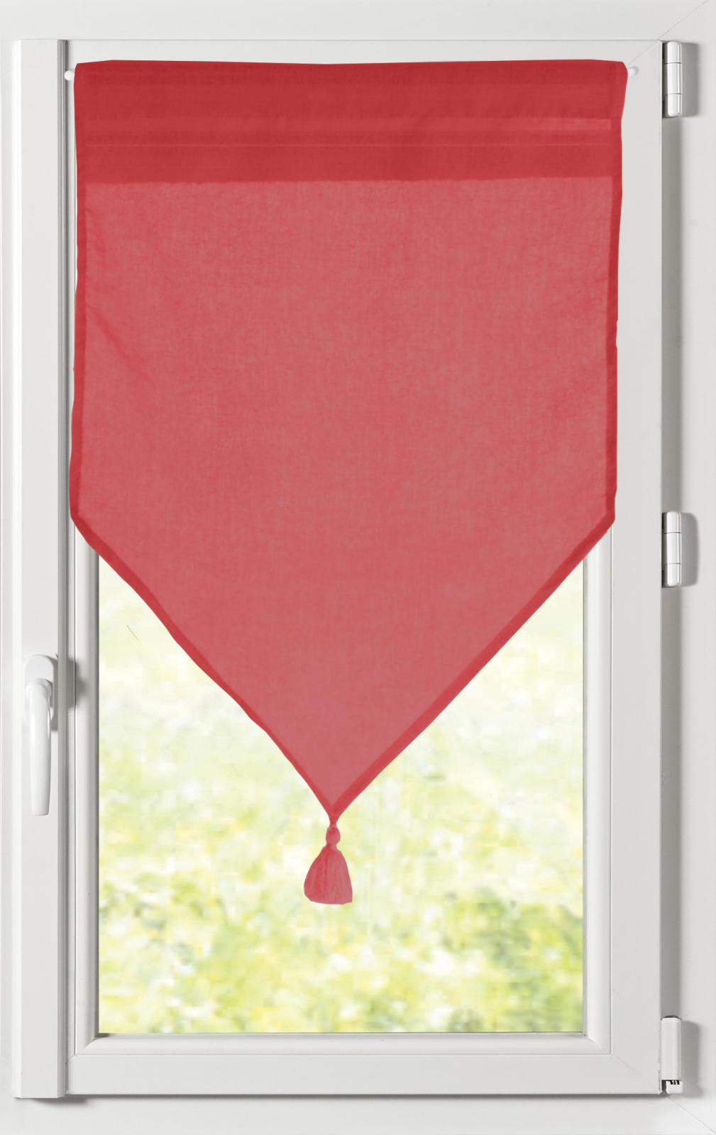 paire de brise bise unie avec 16 coloris rouge. Black Bedroom Furniture Sets. Home Design Ideas