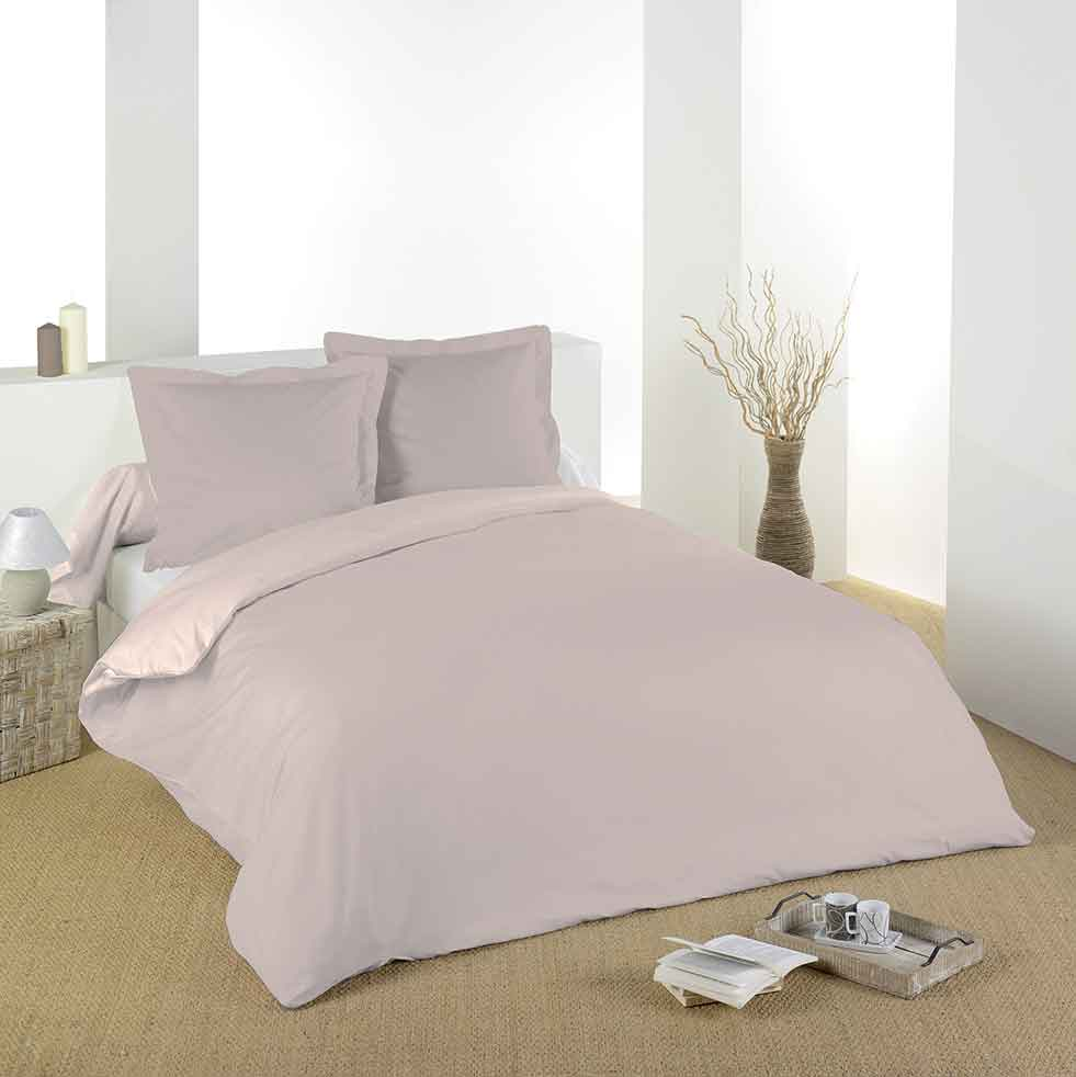 housse de couette unie en coton lin blue jean noir amande tilleul blanc rouge. Black Bedroom Furniture Sets. Home Design Ideas