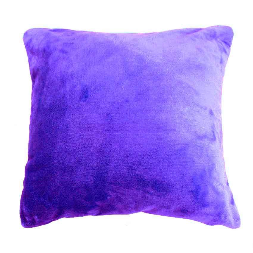 Housse de Coussin Douceur (Violet)