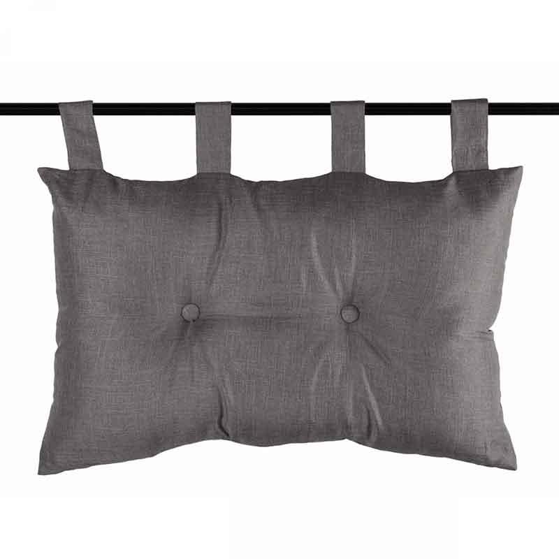 t te de lit avec effet satin taupe corail anis. Black Bedroom Furniture Sets. Home Design Ideas